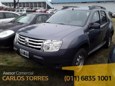 Renault Duster 1.6 Gnc Confort Oid272 Asesor Carlos Torres