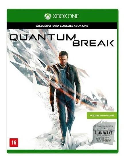 Quantum Break Xbox One Midia Fisica Promoção !!