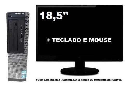 Computador Dell Optiplex 390 Intel I5 8gb 240ssd - Semi Novo