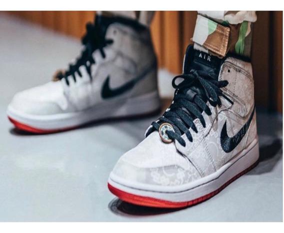 Tenis Nike Jordan 1 Mid Se Fearless Edison Originales Nuevo