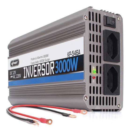 Inversor Tensão 12v 220v 3000w Transformador Kp546a Converso