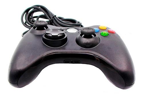 Imagen 1 de 6 de Control Xbox 360 Pc Alambrico Generico Plug Play Full