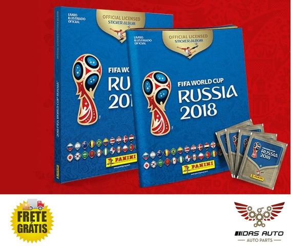 Album Oficial Copa Mundo Rússia 2018 Capa Dura 60 Figurinhas