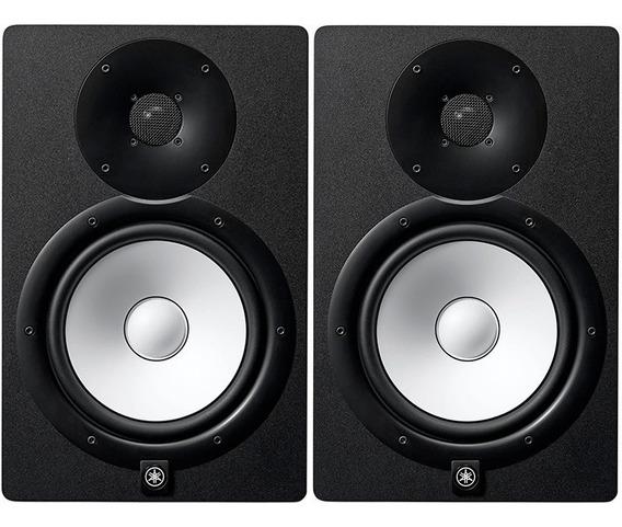 Monitor Referência Ativo Áudio Estúdio Yamaha Hs8 Par 240 W