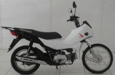 Motocicleta Honda Pop 110i 2016 Branca