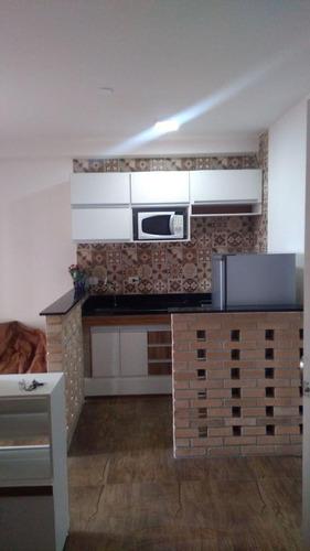 Studio Com 1 Dormitório Para Alugar, 36 M²  -   Vila Augusta - Guarulhos/sp - St0006