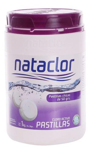 Pastillas De Cloro Activo 50gr De 1kg Nataclor Rinde +