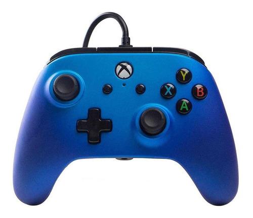 Imagen 1 de 1 de Control joystick ACCO Brands PowerA Enhanced Wired Controller for Xbox One sapphire fade