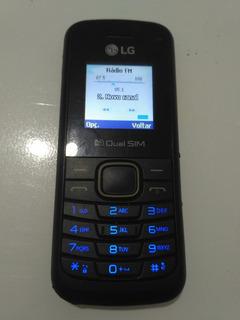 Celular LG B220 Dual Chip Wiffi Rádio Fm Sem Fone
