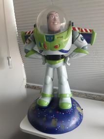 Linda Luminária E Enfeite Do Buzz Original Da Disney 55cm