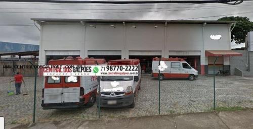 Imagem 1 de 1 de Galpão Para Locação Em Salvador - _2-1027003