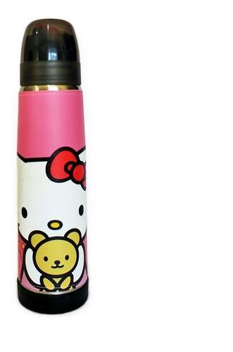 Termo Acero Inoxidable Lumilagro Luminox 1 Litro Hello Kitty