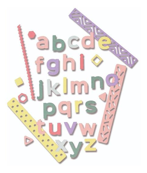 Sizzix Alfabeto Pop Art 33pc