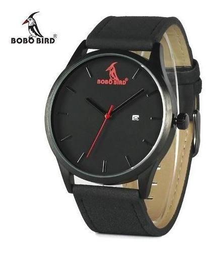 Relógio De Pulso Aço Inox Bobo Bird Original - Não É Bambu