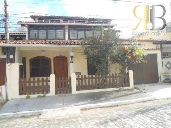 Casa Duplex Com Terraço, À Venda, Anil, Rio De Janeiro. - Ca1619