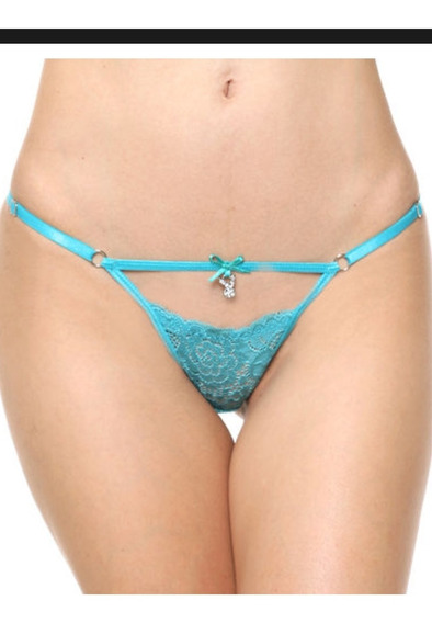 Colaless Regulable Cherry String Playboy Intimates 2356a