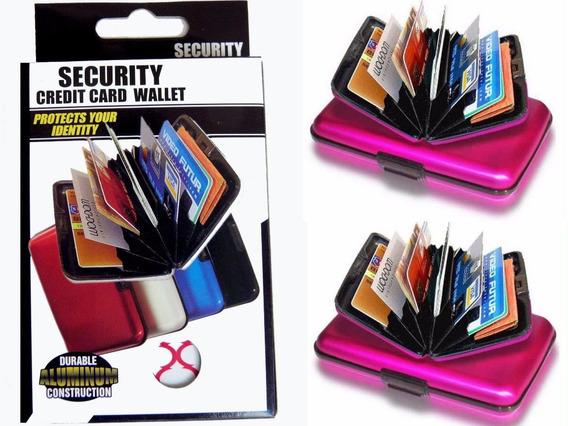 Liquido!!! Billetera Tarjetero Aluminio Super Seguridad!!!