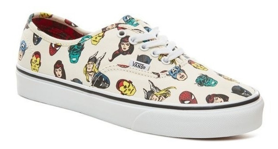 Zapatillas Vans Authentic Marvel Heroes! Edicion Limitada!