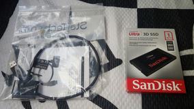 Ssd 1tb 3d Nand Sandisk Ultra Lacrado 560mb/s Novo + Brinde