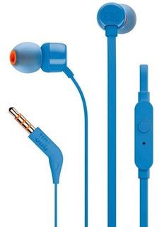 Jbl Auricular Con Microfono T110 Azul