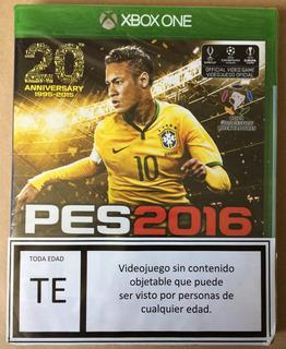 Pes 2016 Sellado / Xbox One // Wario Store