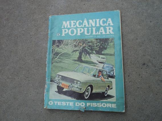 Revista Mecânica Popular O Teste Do Fissore Novembro De 64