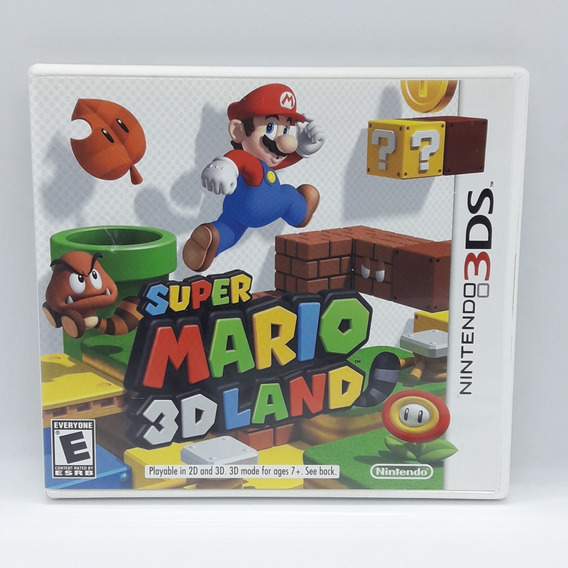 Super Mario 3d Land Nintendo 3ds Midia Fisica Game Jogo 2ds