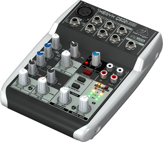 Mixer Xenyx 110v Q502usb Behringer Nfe