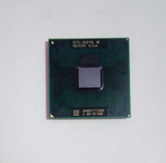Processador Intel® Celeron® T3300 Cache De 1 M, 2,00 Ghz,