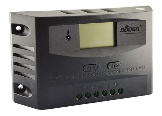 Controlador Pwm Fotovoltaico Solar 20a Carga Display Digital