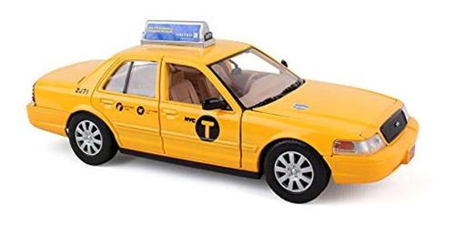 Nueva York Taxi 1/24 Fundido A Presión