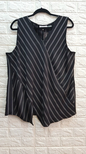 Musculosa Rayada Calvin Klein Talle Xlarge 100 % Original