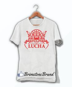 Playera Lucha Libre Azteca Septiembre México Envio Gratis