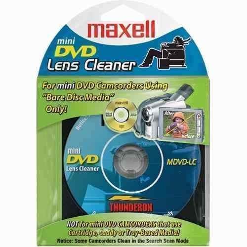 Limpiador De Grabadora Dvd Maxell 190714 Tienda F