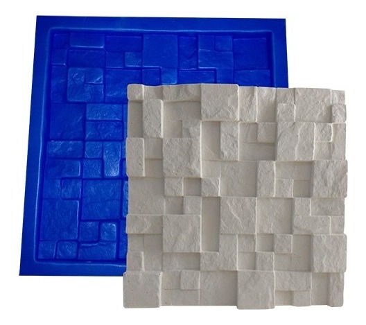 Forma Mosaico Plástico + Eva Placa Gesso - Lindíssimo