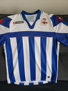Camisa La Coruña Lotto Oficial 2012 Homenagem A Mauro Silva