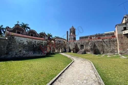 Señorial Casco De Hacienda Del Siglo Xviii. El Trapiche. Mazatepec, Morelos. Venta