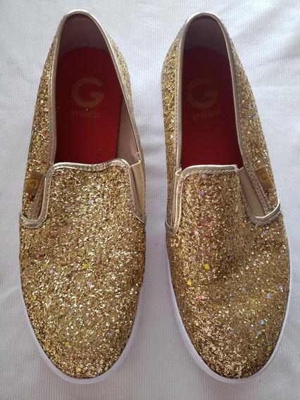 Zapatos Guees Dorado