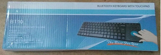 Bt10 Bluetooth Teclado Con Touchpad