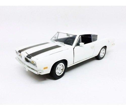 Miniatura Plymouth Barracuda 1969 1:18 Yat Ming 92179bra