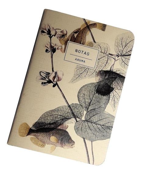 Cuaderno Libreta Anotador Peces A6 14x10cm