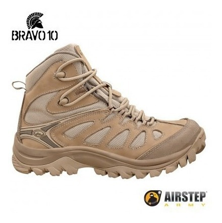 Bota Coturno Hiking Boot-bravo 10 Tan 5700-25