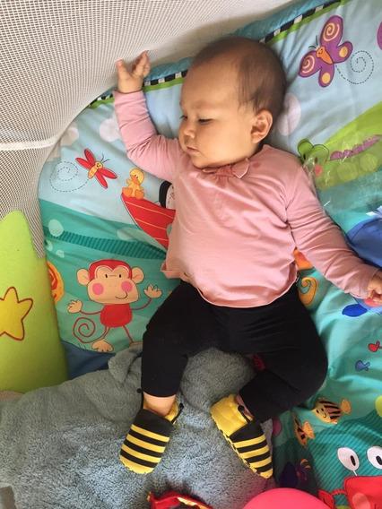 Pantuflas Zapatos Para Bebes De 6 A 12 Meses.