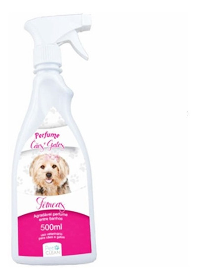 Perfume Pet Clean Fêmeas Para Cães E Gatos - 500 Ml