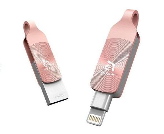iPhone Pen Drive Elements Adam Iklips Duo 64gb Rosa