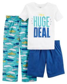 Pijama 3 Peças Huge Deal Carters Tam 5