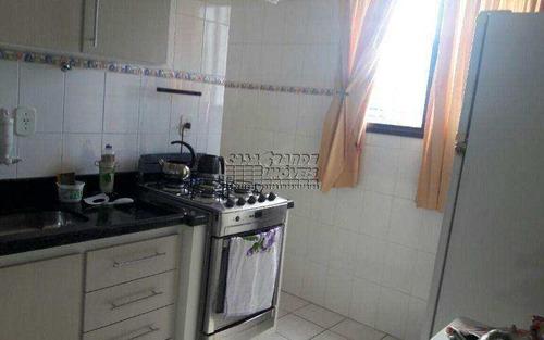 Imagem 1 de 10 de Ótimo Apartamento Em Praia Grande, Balneário Maracanã - V4935