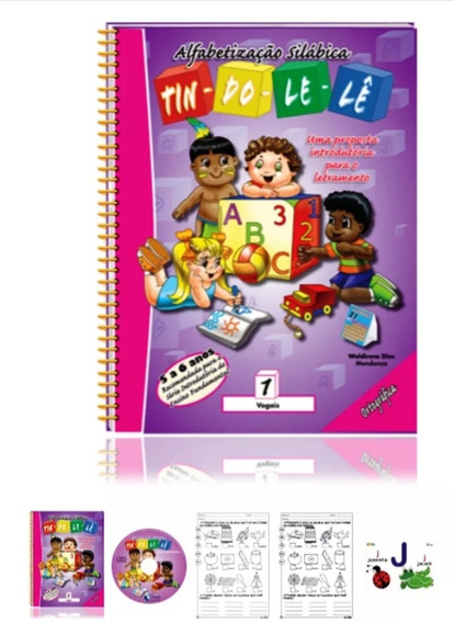 Col. Pedagógica Tin-do-le-lê Alfabetização Silábica 1° Ano