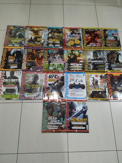 Coleção 20 Revistas Playstation