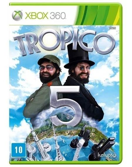 Jogo Tropico 5 Xbox 360 Construção E Administração De Cidade